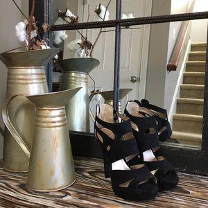Black Strappy Heels (8)